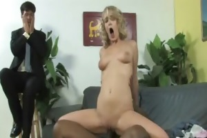 young daughter acquires pounded by large dark rod