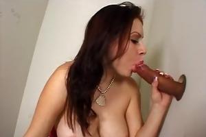 juvenile large titty girl deepthroats ramrod at