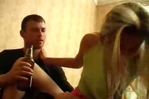 drunk little beauty screwed by crazy brother