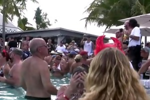 mad party milf naked pool party