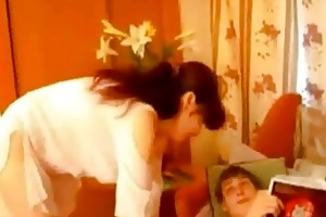 russian mother have sex with son