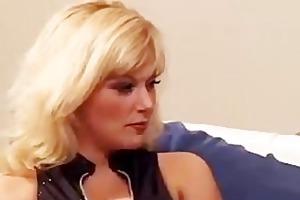 bigboobed blonde milf banging
