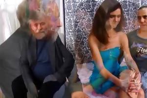 nasty old stud seduces a shy czech legal age