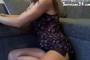 admirable adelina in most excellent web livecam