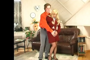 guys for matures - alana copulates in the office