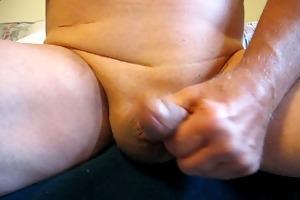 65 yrold older man #16 mature penis close closeup