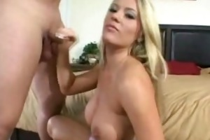 blonde mother i jerks of younger chap