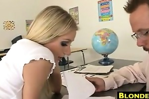 schoolgirl screwed by her teacher
