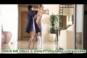 tamara and lacie youthful nice-looking lesbos