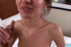 22 years sonia st casting slim brunette