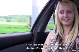 whore stop - golden-haired teen katerina screwed