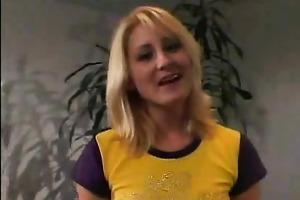 juvenile blonde nurse schooled
