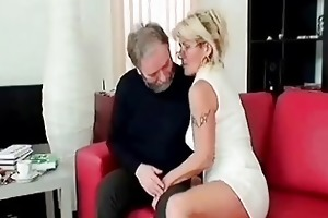 lewd aged blows old penis deep and hard