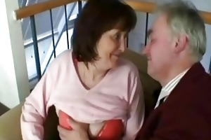old grandfather fuck this sexually excited granny
