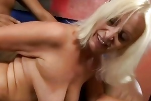 bigboobie granny getting fucked by her old husband