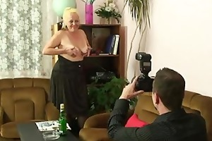 ops, his wife finds some dirty photos...