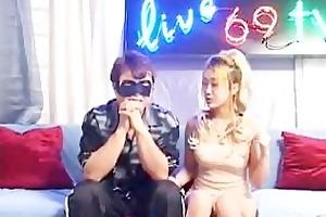 [korea] yellow hair fuck with guy - porndl.me -