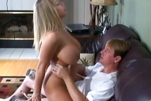amber rides a guy