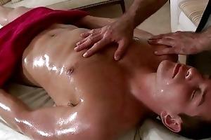 massaging young hard rod