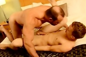 hot twink scene thankfully, muscle dad casey has