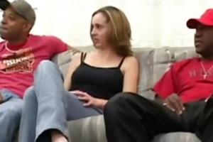 interracial group-fucked younger girl