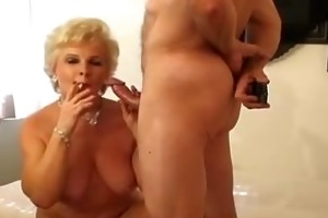 smokin senior (ms.jewels creampie!!!)