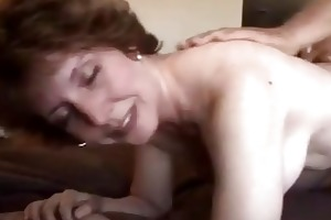 old granny amy lynn desires hard schlong