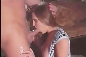 cute daughter violently drilled