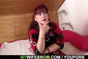 wife finds her mommy and his bf together