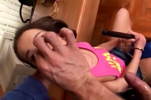 young and sexy jeny takes it in the ass