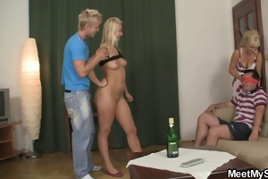 his dad ass drilling his gfs snatch