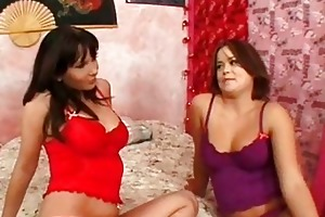 mama and daughter sucking cock
