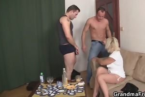 she receives glad by big cocks