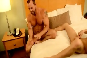 homosexual xxx thankfully, muscle daddy casey has