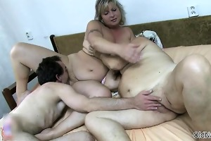 nasty old whores go insane getting fucked part2