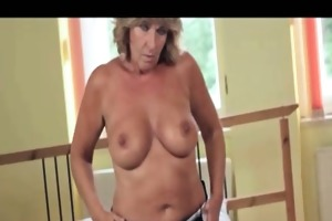 nasty old woman acquires horny rubbing part1