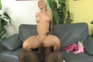 white sweetheart takes giant darksome dick 22