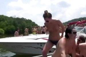 party cove bare on the water - scene 5
