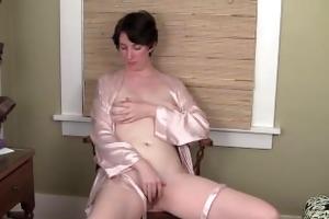 milf inara bonks a marital-device for orgasm