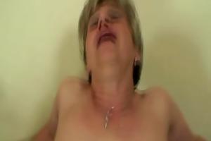 granny engulfing cock and balls
