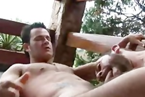 unshaved dilfs teasing each others body