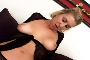 youthful golden-haired with hawt pussy