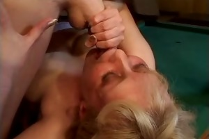 momms is working hard oral-sex