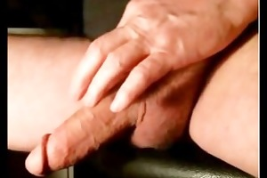 large dick daddy discharges his load