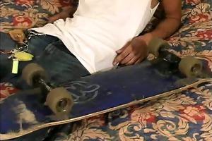 juvenile latino shows his latin cock