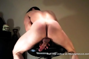 juvenile cumming stud with fingers up his ass!