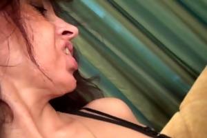 mother i karolina masturbates her mature pussy