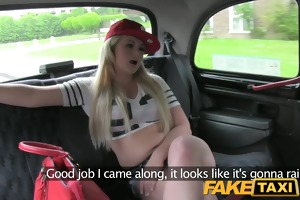 faketaxi rod hungry young blonde in taxi anal