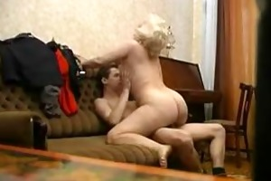 old mommy fucks her sexy son