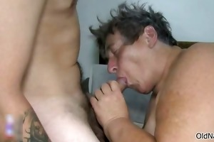 indecent old whores go eager engulfing cocks